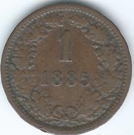 Austria - 1885 - Franz Joseph - 1 Kreuzer - KM2187 - Autriche