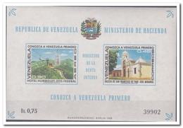Venezuela 1969, Postfris MNH, Cable Car, Church - Venezuela