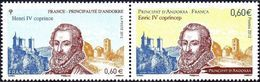 France N° 4698.P ** Emission Commune Avec Andorre - Roi Henri IV - Ungebraucht