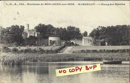 00156 ENVIRONS DE BOULOGNE-SUR-MER // HARDELOT // L'ETANG DES MIROIRS  // ECRITE TIMBRE - Boulogne Sur Mer