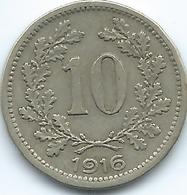 Austria - Karl - 1916 - 10 Heller - KM2825 - Austria