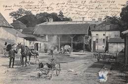 76. N°205987. Gournay En Bray. Ferme Agronomique. Cour Exterieur. Agriculture - Gournay-en-Bray