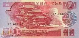 KOREA 10 WON 1988 PICK 37 UNC - Korea, Noord