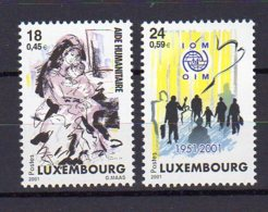 LUXEMBOURG     Neuf **    Y. Et T.     N° 1485 / 1486     Cote: 4,00 Euros - Ongebruikt