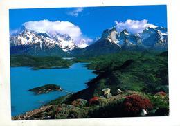 Carte Parc National Cachet Varas Sur Navire Helicoptere - Chile