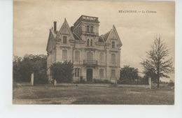 BEAURONNE - Le Château - Other Municipalities