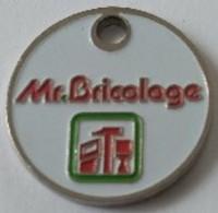 Jeton De Caddie - Mr. Bricolage - En Métal - - Trolley Token/Shopping Trolley Chip