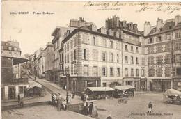 Brest - Place Saint-Louis - Marché - - Brest