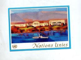 Carte Postale 0.90 Fs Batiment - Genf - Büro Der Vereinten Nationen