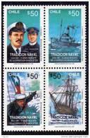 POLAIRE CHILI N° 1043/46 XX 75ème Anniversaire Du Recueil De L'expédition Shackleton - Non Classificati