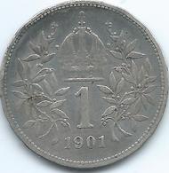 Austria - 1901 - Franz Joseph - 1 Corona - KM2804 - Austria