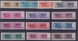 Trieste - 360 ** Pacchi Postali 1946-7 - Soprastampati N. 13/25. Cat. € 500,00. SPL - Paketmarken/Konzessionen
