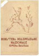 PAGELLA OPERA BALILLA ANNO SCOLASTICO 1932-33 - FASCISMO - Diploma & School Reports