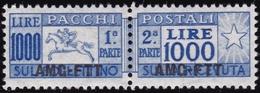 Trieste - 362 ** Pacchi Postali 1946-7 - Soprastampati N. 26I. Cat. € 300,00. SPL - Paketmarken/Konzessionen