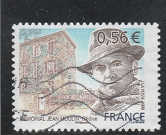 FRANCE 2009 JEAN MOULIN YT 340 OBLITERE - Frankreich