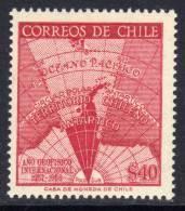Polaire Chili N° 275 XX  Année Géophysique Internationale Sans Charnière TB - Non Classificati