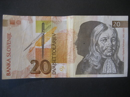 Slowenien- 20 Tolar 1992 - Slovénie