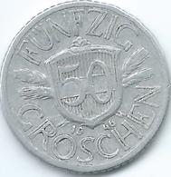 Austria - 1946 - 50 Groschen - KM2870 - Austria