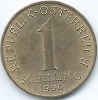 Austria - 1 Schilling - 1990 - KM2886 - Austria