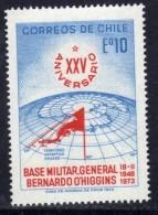 Polaire Chili N° 398 XX 2ème Anniversaire De La Base Militaire En Antarctique  Sans Charnière TB - Non Classificati