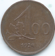 Austria - 100 Kronen - 1924 - KM2832 - Austria