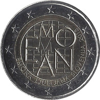 2E183 - SLOVENIE - 2 Euros Commémorative - Ville Romaine Emona 2015 - Slovenia