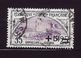 1922 N 166  Obli AF 397 - France