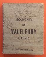 42 - LOIRE - VALFLEURY -  Carnet De 10 Vues 5x8 - éd Jean Bernard (St Etienne) - Sin Clasificación