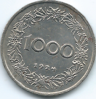 Austria - 1000 Kronen - 1924 - KM2834 - Austria