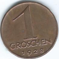 Austria - 1928 - 1 Groschen - KM2836 - Austria