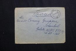 ROUMANIE - Enveloppe De Brăila Pour La Turquie En 1958 , Affranchissement Plaisant Au Verso - L 61976 - Briefe U. Dokumente