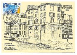 LE HAVRE 1990 Journée Du Timbre N° 2639 - 1990-99