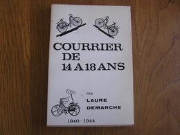 1940 1944 COURRIER DE 14 à 18 ANS Guerre 40 45 Régionalisme Maquis Résistance Ouffet Bonsin Ocquier Bois Borsu Bassinnes - Guerre 1939-45