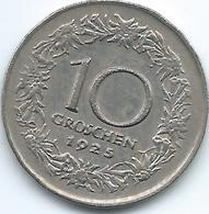 Austria - 1925 - 10 Groschen - KM2838 - Austria