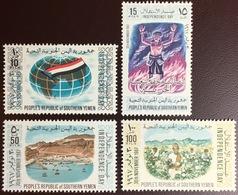 South Yemen 1968 Independence Day MNH - Yemen