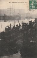 LE TREPORT - Torpilleurs Au Bassin - Guerre
