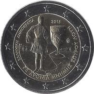 2E187 - GRECE - 2 Euros Commémorative - Spyridon Louis 2015 - Greece