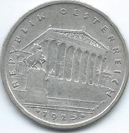 Austria - 1925 - 1 Schilling - KM2840 - Austria