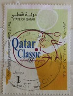 142. QATAR 2011 USED STAMP SQUASH CHAMPIONSHIPS - Qatar