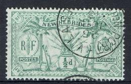 New Hebrides, 1/2p,, Definitives, 1911, VFU superb Postmark, Port-Vila - Used Stamps