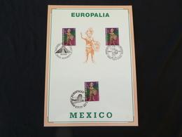 "BELG.1993 2508 Filatelic Card: "" EUROPALIA 93 ,MEXICO "" - FDC"