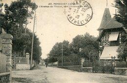 PORNICHET - L'Avenue De L'Océan Vers L'Avenue De Mazy - Pornichet