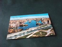 STORIA POSTALE MALTA NAVE SHIP RIMORCHIATORE DOCKYARD CREEK GRAND HARBOUR P.F. - Malta