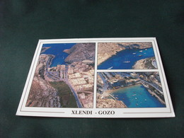 STORIA POSTALE MALTA XLENDI GOZO  VEDUTE - Malta