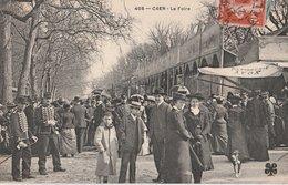 CAEN (14). La Foire. Patisserie Avon, Militaire - Caen