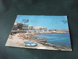 STORIA POSTALE MALTA BUGIBBA PROMENADE PIEGA ANG. - Malta