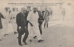"""L'Explosion Du Cuirassé """"Liberté"""" à Toulon Le 25 Septembre 1911 (400 Victimes). M. Delcassé Et Le Médecin En Chef ... - Guerre"""