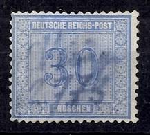 Allemagne/Reich YT N° 27 Oblitéré Plume. Signé. B//TB. A Saisir! - Oblitérés