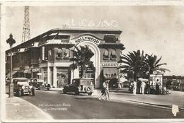 JUAN LES PINS . LE CASINO EN 1937 + AUTOS - Autres Communes