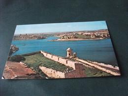 STORIA POSTALE MALTA MARSAMXETT HARBOUR PANORAMIC VIEW OF TA XBIEX AND MSIDA CREEK P.F. - Malta